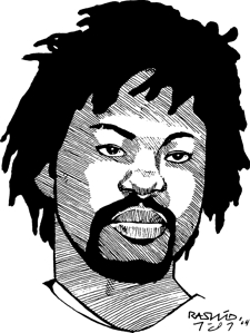 Rashid-Johnson, From bad to worse, Behind Enemy Lines