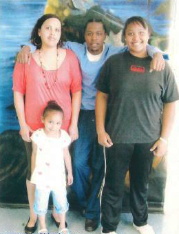 William-E.-Brown-Jr.-with-family, Ripple effects of Corcoran ASU hunger strike, Behind Enemy Lines