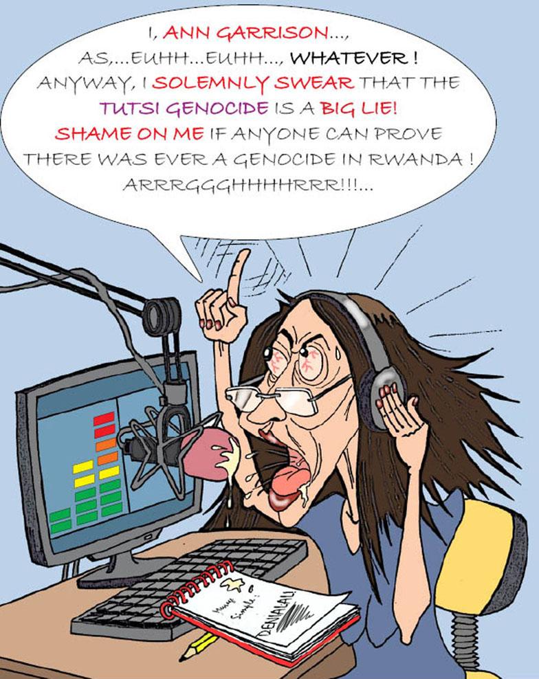 Ann-Garrison-cartoon-in-The-Exposer-Rwanda-News-02121, Rwandan President Paul Kagame's war on journalists, World News & Views