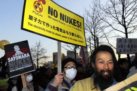 Anti-nuclear-protest-Yokohama-Japan-011412, Fukushima – worse than Chernobyl, National News & Views