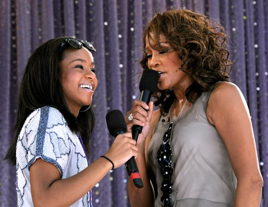 bobbi kristina and whitney houston relationship with clive davis