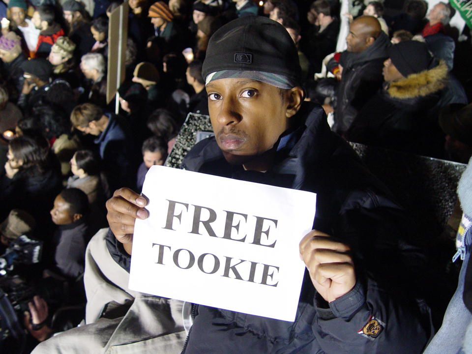 Free-Tookie-SQ-121305-by-JR-web, Mumia calls on you to 'Occupy 4 Prisoners' Monday, Feb. 20, Behind Enemy Lines