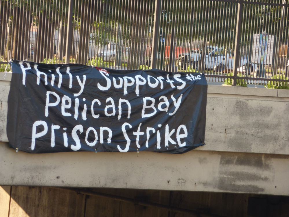 Hunger-strike-banner-Philly-supports-the-Pelican-Bay-Prison-Strike-071811, From Pelican Bay: CDCR to offset prison population cut by putting more men in solitary, Behind Enemy Lines