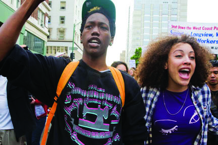 Occupy-Oakland-Labor-march-4000-vs-police-foreclosures-school-closures-111911-by-David-Bacon, A discussion on strategy for the Occupy Movement from behind enemy lines, Behind Enemy Lines