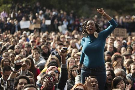 Occupy-UC-Davis-students-feat.-Black-woman-protest-111811-police-pepper-spray, A discussion on strategy for the Occupy Movement from behind enemy lines, Behind Enemy Lines