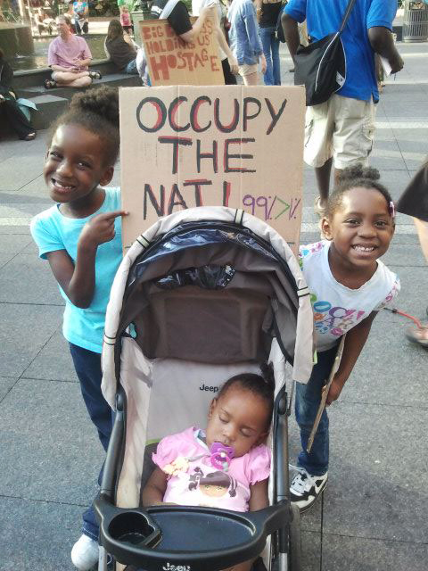 Occupy-the-Hood-Occupy-the-Nati-Cincinnati-101511-by-J.-Cherise-McIntosh, A discussion on strategy for the Occupy Movement from behind enemy lines, Behind Enemy Lines
