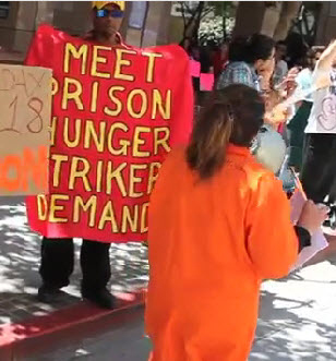 Pelican-Bay-hunger-strike-rally-CDCR-HQ-Sacramento-071811-2-by-Grant-Slater-KPCC, From Pelican Bay: CDCR to offset prison population cut by putting more men in solitary, Behind Enemy Lines