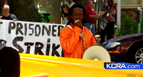 Pelican-Bay-hunger-strike-rally-CDCR-HQ-Sacramento-071811-by-KCRA, From Pelican Bay: CDCR to offset prison population cut by putting more men in solitary, Behind Enemy Lines