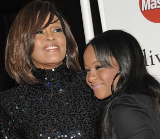Whitney-Houston-daughter-Bobbi-Kristina-Brown-at-Clive-Davis-Pre-Grammy-Gala-021211-by-AP, To honor Whitney, how about we end addictions?, Culture Currents