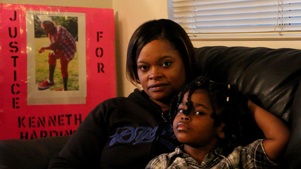 Denika-Chatman-mother-of-Kenneth-Harding-4yo-daughter1, Two reviews: Sieh Samura's 'Block Reportin' 101' will be featured at the 10th Oakland International Film Festival, on Saturday, April 7, at 3 p.m., Culture Currents