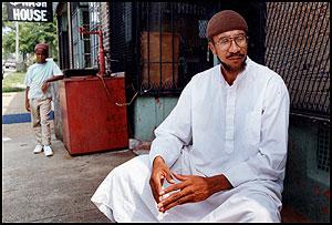 Imam-Jamil-Al-Amin-in-hood, Imam Jamil Al-Amin on El Hajj Malik El Shabazz (Malcolm X) – Rally Monday to bring him home, Behind Enemy Lines