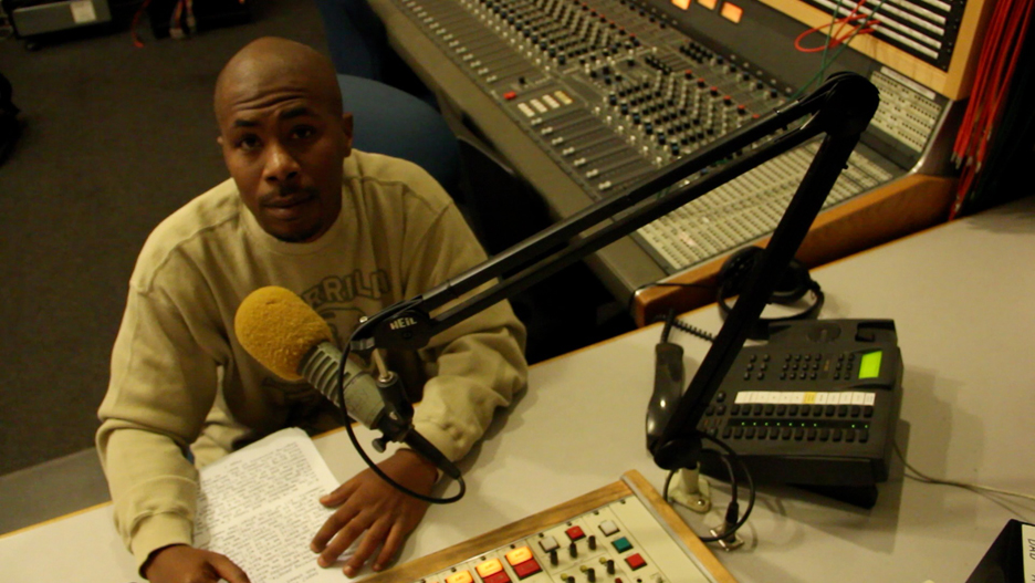 JR-at-controls-KPFA, Two reviews: Sieh Samura's 'Block Reportin' 101' will be featured at the 10th Oakland International Film Festival, on Saturday, April 7, at 3 p.m., Culture Currents