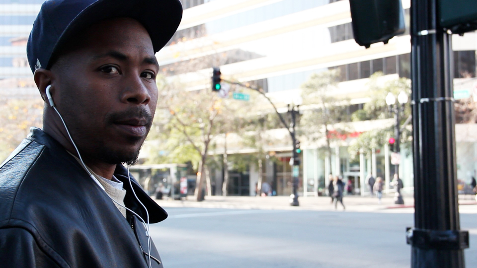 JR-streets-of-Oakland-from-Block-Reportin-101, Two reviews: Sieh Samura's 'Block Reportin' 101' will be featured at the 10th Oakland International Film Festival, on Saturday, April 7, at 3 p.m., Culture Currents