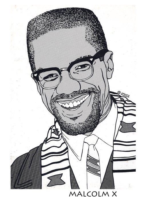 Free Coloring Pages Of Malcom X Malcolm X Coloring Pages