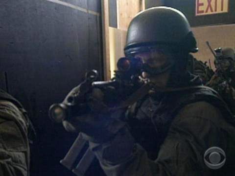 NYC-JTTF-cop-aiming-big-gun, Spying on San Franciscans: End FBI control of SFPD Joint Terrorism Task Force, Local News & Views