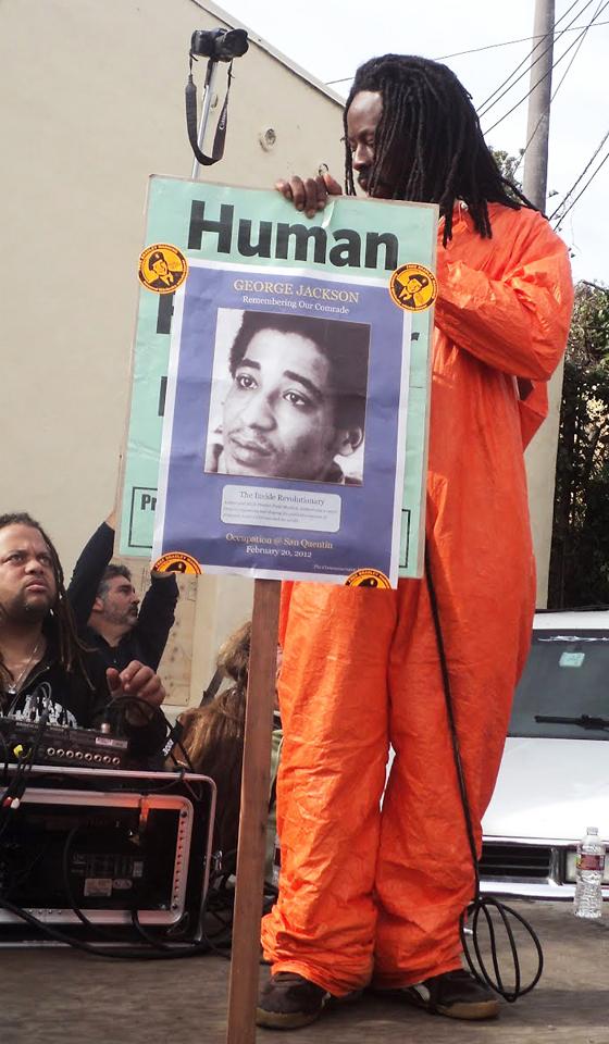Occupy-San-Quentin-Jabari-George-Jackson-022012-9-by-Wanda, Wanda's Picks for March 2012, Culture Currents