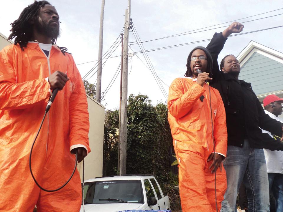 Occupy-San-Quentin-Jabari-Timbuktu-Akaamka-Don-Juan-022012-11-by-Wanda, Wanda's Picks for March 2012, Culture Currents