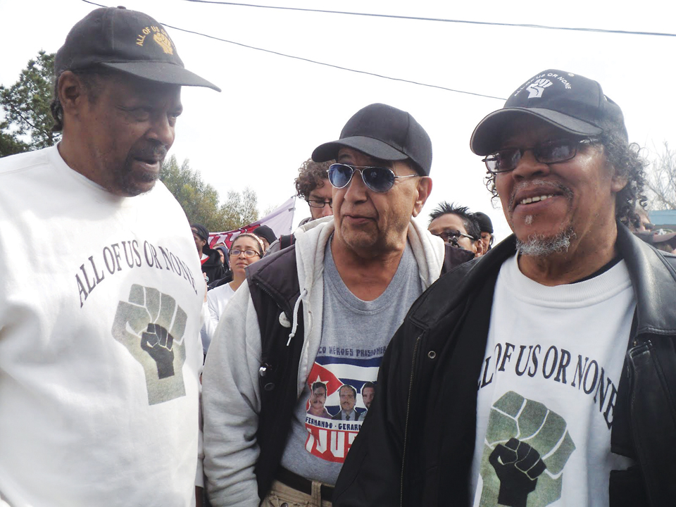 Occupy-San-Quentin-SQ6-Sundiata-Tate-Bato-Talamantez-David-Johnson-022012-8-by-Wanda, Wanda's Picks for March 2012, Culture Currents