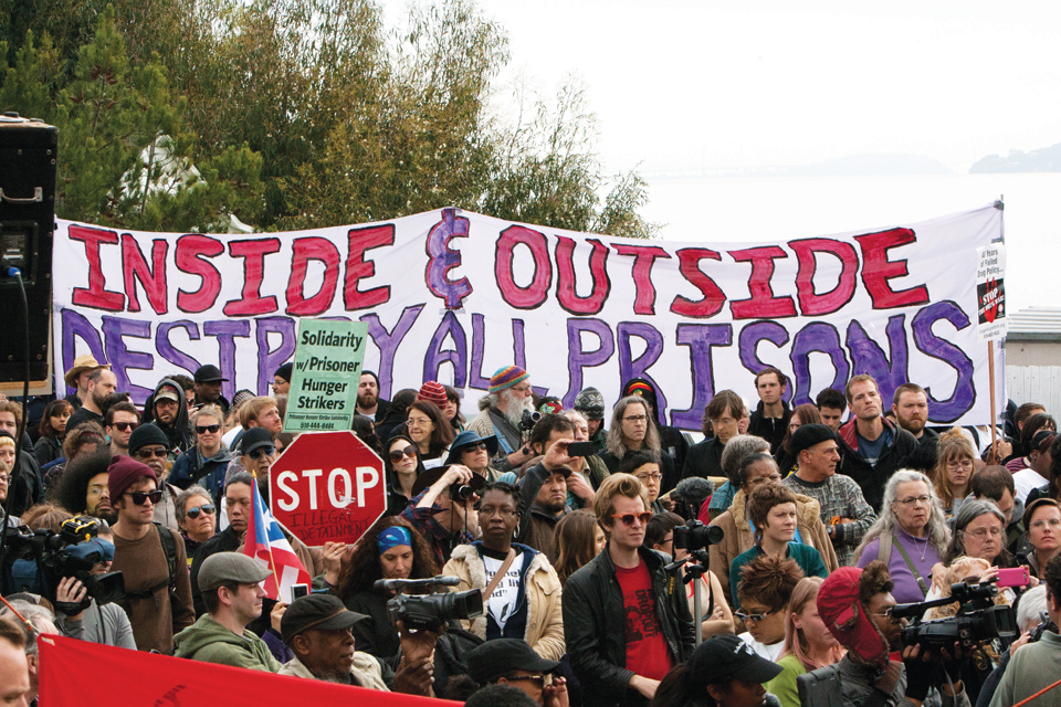 Occupy-San-Quentin-crowd-022012-5-by-Malaika-web, 1,500 strong march against slavery, Local News & Views