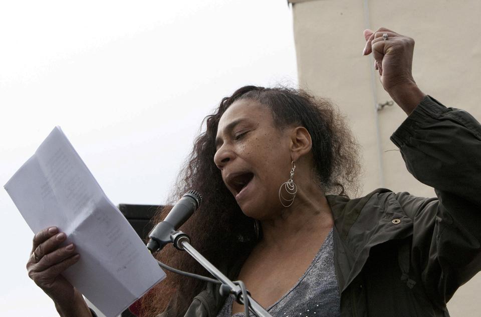 Occupy-San-Quentin-devorah-major-022012-7-by-Malaika-web2, 1,500 strong march against slavery, Local News & Views