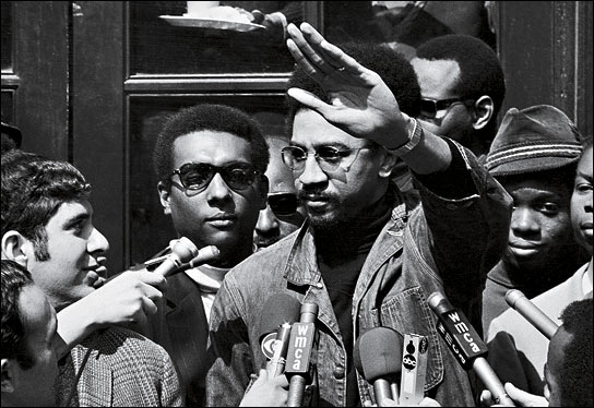 Stokeley-Carmichael-H.-Rap-Brown-meet-press1, Imam Jamil Al-Amin on El Hajj Malik El Shabazz (Malcolm X) – Rally Monday to bring him home, Behind Enemy Lines
