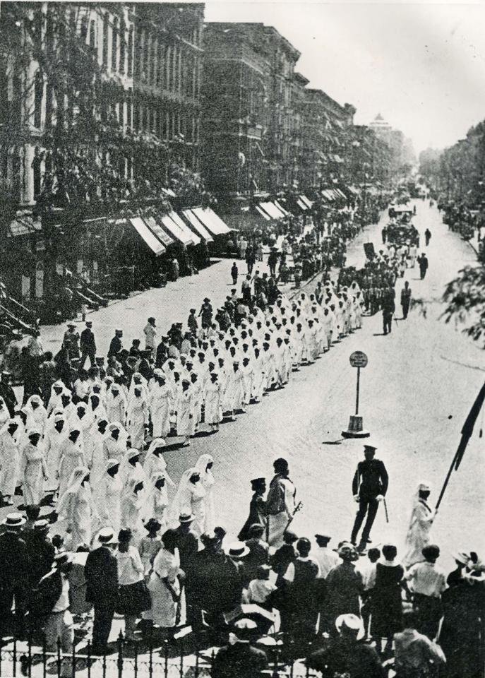 UNIA-Convention-parade-Black-Cross-nurses-leading-Harlem-ca.-1922-courtesy-NLJ, Brother Sitawa's horrible journey through CDCR corruption, torture and inhumane treatment, Behind Enemy Lines