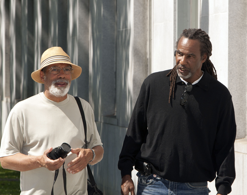 Earl-Black-Claude-Carpenter-at-Fly-Benzos-1st-sentencing-hrg-042012-by-Malaika-web, Fly Benzo does not stand alone: Occupy Fly's hearing!, Local News & Views