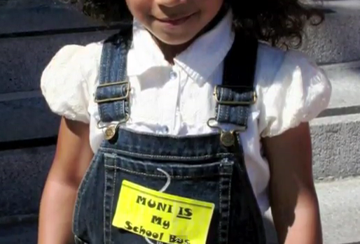 Muni-is-my-school-bus-lil-girl, Free Muni for Youth proposal returns for a vote before the MTA Board, Local News & Views
