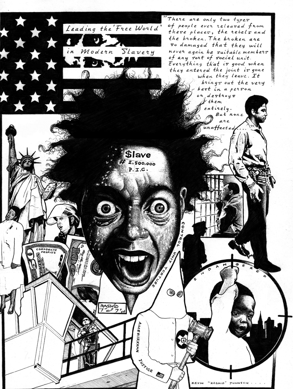Control-Unit-Torture-by-Kevin-Rashid-Johnson-web, Prisoners at Virginia's Red Onion State Prison on hunger strike, Behind Enemy Lines