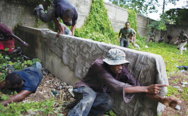 Haitian-paramilitary-training-2011-by-Andres-Martinez-Casares-NYT, Paramilitary gangs join UN force in preying on Haitian population, World News & Views