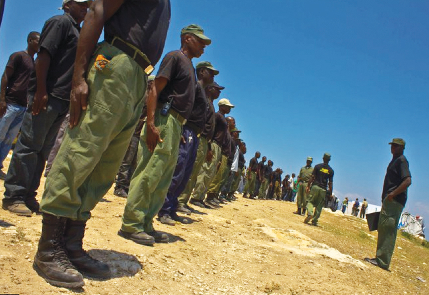 Haitian-paramilitary-training-by-Isabeau-Doucet, Paramilitary gangs join UN force in preying on Haitian population, World News & Views