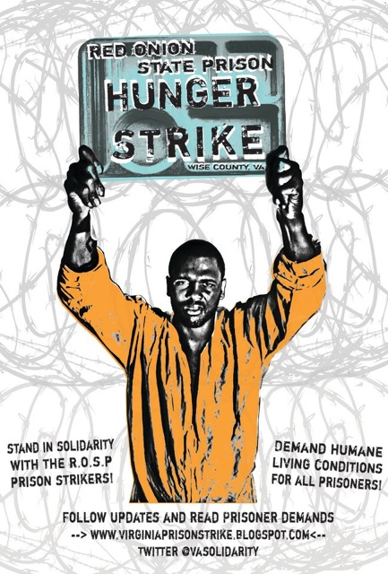Red-Onion-State-Prison-Hunger-Strike-graphic, Prisoners at Virginia's Red Onion State Prison on hunger strike, Behind Enemy Lines