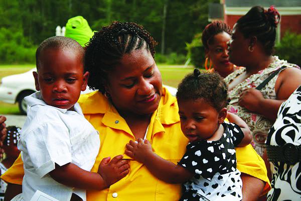 Jamie-Scott-grandbabies-2008, Mississippi, stand up!, Behind Enemy Lines