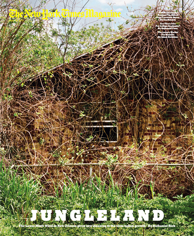 Jungleland-NY-Times-Magazine-cover-032112, Jungleland? New Orleans community activist rejects NY Times depiction of 9th Ward, National News & Views