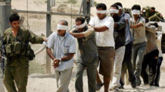 Palestinian-prisoners-blindfolded, 'We must sustain hunger strike solidarity,' says leading prisoner rights campaigner, Behind Enemy Lines