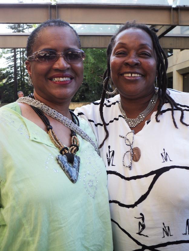 Raja-Rahim-Ida-McCray-former-PP-Sweet-Honey-concert-UCB-050612-by-Wanda, Wanda's Picks for June 2012, Culture Currents