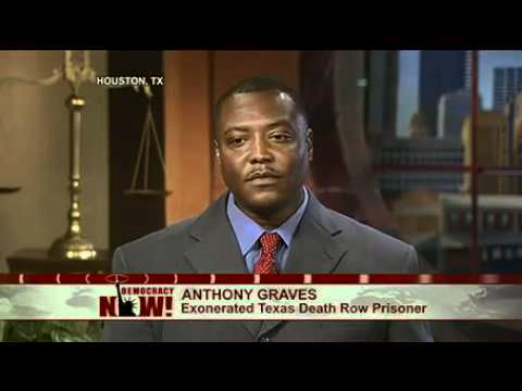 Anthony_Graves_on_DN_0622121, First ever U.S. Senate hearing: Solitary confinement comes to Washington, National News & Views