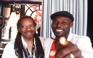 Jac-Taliaferro-Jimmy-Jean-Louis-at-Cannes-2010, Celebrating great films and filmmakers from Cannes to San Francisco, Culture Currents