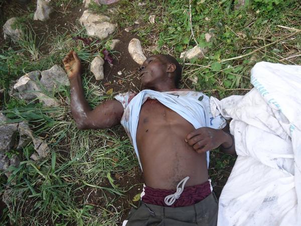 La-Visite-massacre-victim-072312-by-Claudy-Belizaire, Massacre at La Visite, World News & Views