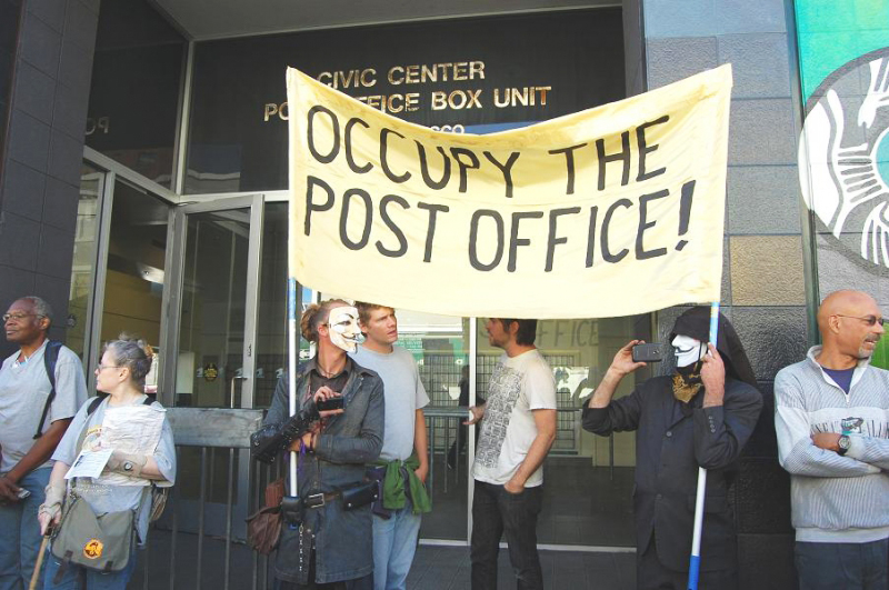 March-to-Save-the-People's-Post-Office-Occupy-Civic-Center-PO-062712-by-Patricia-Jackson, March to Save the People's Post Office: 200 march and occupy San Francisco's Civic Center PO, Local News & Views