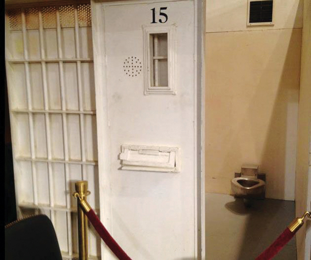 Mock_solitary_cell_by_ACLU_in_hearing_room_at_Senate_hearing_061912_by_Delores_Panales, First ever U.S. Senate hearing: Solitary confinement comes to Washington, National News & Views