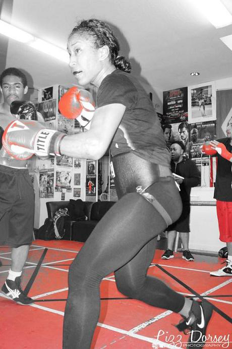 Raquel-Miller-in-gym, Beautiful and deadly: an interview with Frisco boxer Raquel Miller, Culture Currents