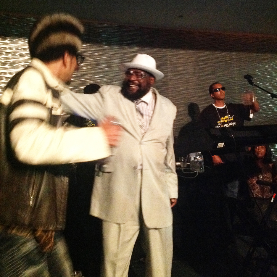 Shock-G-George-Clinton-at-Digital-Undergrounds-Tupac-bday-party-061612-by-BRR, The Panther party for Tupac's birthday, Culture Currents