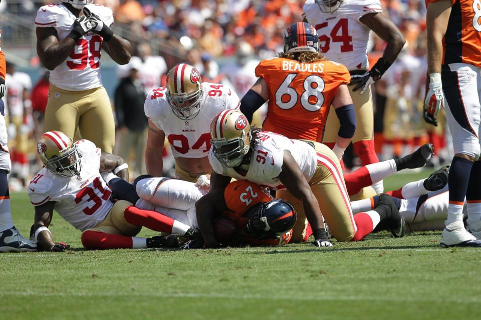 49ers_beat_Broncos_in_Denver_29-24_082612, NFL cash and community, Culture Currents