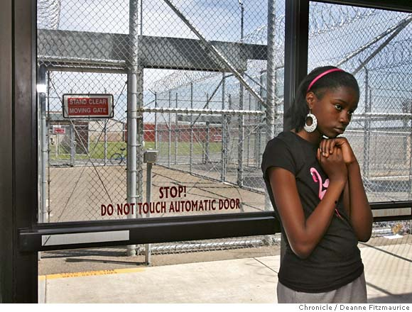 Girl_visiting_prison_by_Deanne_Fitzmaurice_Chronicle, Restore our visitation, don't break our family bonds, Behind Enemy Lines