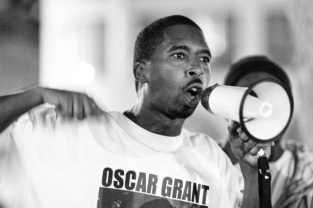 Kevin_Epps_speaks_Oscar_Grant_rally_by_Thomas_Hawk_Flickr, NY Times underestimates Oakland's radicals, Local News & Views