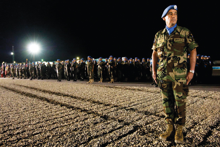 MINUSTAH_handover_of_command_ceremony_to_Cmdr._Ricardo_Toro_PAP_090409_by_Marco_Dormino_UN, Signs of the times in Haiti: The military, money and meaning of an occupation, World News & Views
