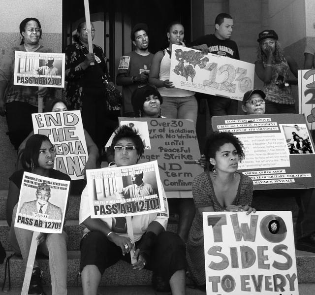 Rally_to_pass_AB_1270_end_ban_on_media_access_to_prisons_Sacramento_061212_by_Urszula_Wislanka_News__Letters, Senate passes Prison Media Access Bill, National News & Views