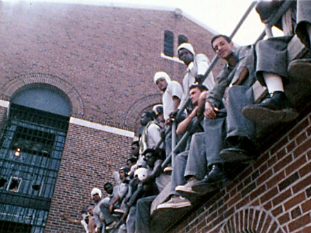 Attica_prisoners_during_rebellion_0971, California prisoners make historic call to end hostilities between racial groups in California prisons and jails, Behind Enemy Lines