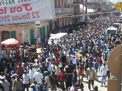 Cap_Haitien_anti-corruption_march_Down_with_Martelly_and_the_pink_hunger_092112_by_Radio_Caribes_FM_Haiti2, Outsiders EXPECT burning tires in Haiti ... not accurate reporting, World News & Views